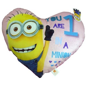 42cmピンクDespicable Meクッション–1in A Minion–Dave The Minion–Great Present