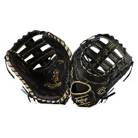 ローリングス メンズ 野球 グローブ【Heart of the Hide Color Sync Series】Black/Metallic Gold