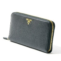 プラダPRADA長財布1ml506 2e3a Vitello Grain Lether Wallet [並行輸入品]