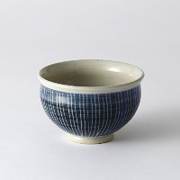 CULTURE BY DESIGN / TEACUP BOWL SHIMA / 湯呑茶碗 しま / 美濃焼 (ブルー)