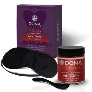 System Jo Dona Body Topping, Maple Sugar, 2 Ounce by System Jo