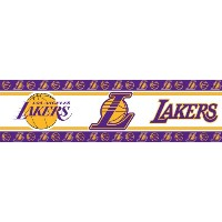 Los Angeles Lakers Self Stick Wall Border