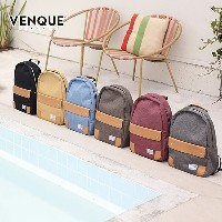 VENQUE ヴェンク The Classic Backpack BLACK クラシック リュックサック バッグ バックパック 本革 レザー 撥水 大容量 PC収納 カナダ ブラック