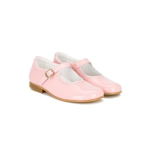 Andanines Shoes バレエシューズ - ピンク&パープル
