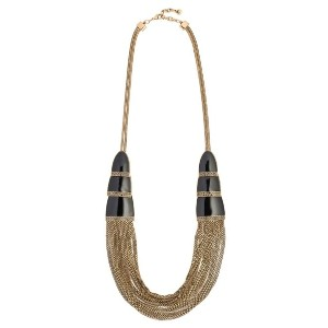 Camila Klein Correntária long necklace - メタリック