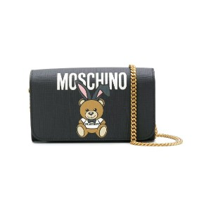 Moschino Teddy Playboy 長財布 - ブラック