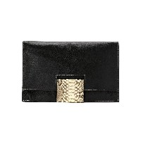 Mara Mac snakeskin panel clutch - Unavailable