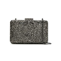Serpui embellished clutch - グレー