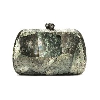 Serpui mother of pearl clutch - グリーン
