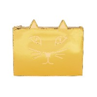 Charlotte Olympia Kitty クラッチバッグ - メタリック