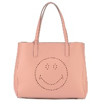 Anya Hindmarch Smiley Ebury トートバッグ - ピンク&パープル