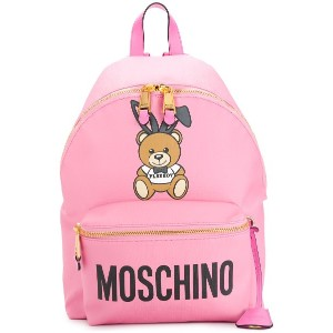 Moschino Ready to Bear Playboy バックパック - ピンク&パープル