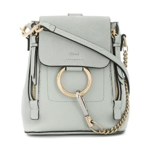 Chloé mini Faye backpack - グレー