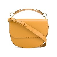 Sophie Hulme The Bow satchel - イエロー&オレンジ