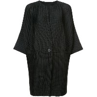 Pleats Please By Issey Miyake Arare コート - ブラック