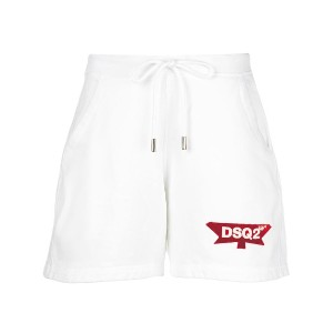 Dsquared2 relaxed-fit track shorts - ホワイト