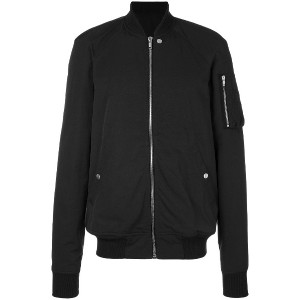 Rick Owens Flight bomber jacket - ブラック