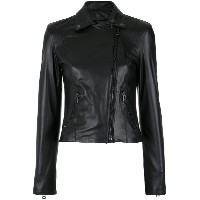 Nk leather jacket - ブラック