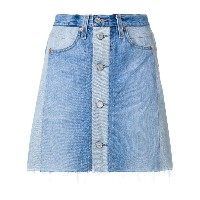 Re/Done Re/Done x Levi's ハイウエストスカート - ブルー