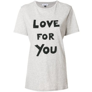 Bella Freud Love For You Tシャツ - グレー
