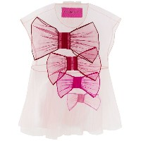 Viktor & Rolf So Many Bows Icon 1.1 Tシャツ - ピンク&パープル