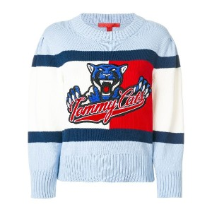 Hilfiger Collection Tommy Cats セーター - ブルー