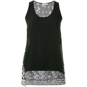 Mara Mac printed tank top - ブラック