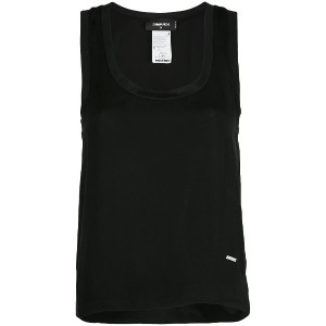 Dsquared2 jersey tank top - ブラック