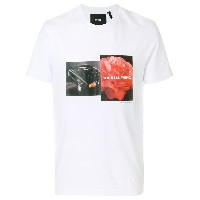 Blood Brother Liberty Bloom Tシャツ - ホワイト