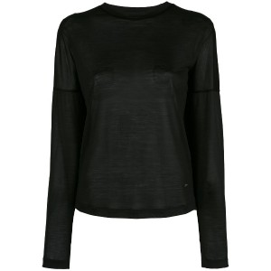 Dsquared2 classic fitted sweater - ブラック