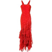 Martha Medeiros Maite lace gown - レッド