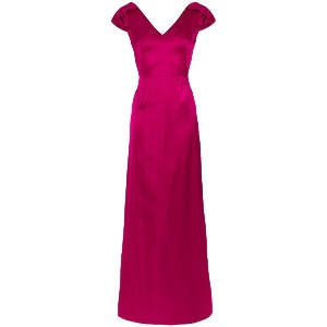 Tufi Duek panelled V-neck gown - Unavailable