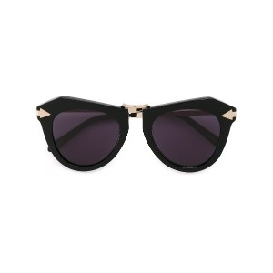 Karen Walker Eyewear One Orbit サングラス - ブラック