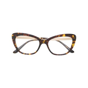 Dolce & Gabbana Eyewear Mambo Collection 眼鏡フレーム - ブラウン