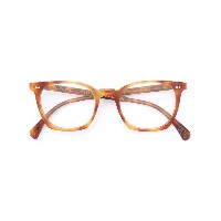 Oliver Peoples L.A. Coen べっ甲柄 眼鏡フレーム - ブラウン
