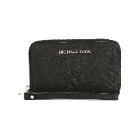 Michael Michael Kors Jet Set Travel 財布 - ブラック