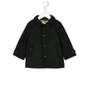 Burberry Kids Mini Bensham コート - ブルー