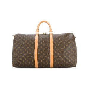 LOUIS VUITTON PRE-OWNED Keepall 55 ボストンバッグ - ブラウン