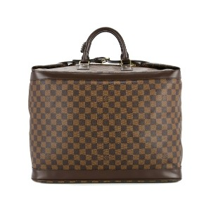 LOUIS VUITTON PRE-OWNED Damier Ebene ボストンバッグ - ブラウン