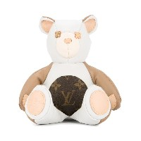 LOUIS VUITTON PRE-OWNED DouDou テディベア - ホワイト