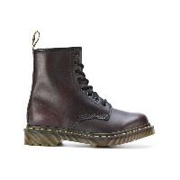 Dr. Martens レースアップブーツ - ピンク&パープル