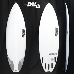 """【DHD SURFBOARDS】DHD サーフボード3DX 5'9"""" 28.5CL  2018New Model!FUTURE 5FIN 送料無料"""