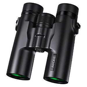 aucee 10x 42双眼鏡for Adults、プロフェッショナルHDコンパクト防水、Fogproof双眼鏡for Bird Watchingハイキング旅行Stargazing Hunting...
