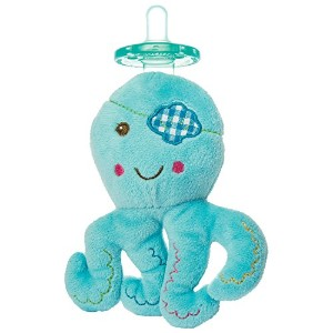 Mary Meyer Wubbanub Baby Buccaneer Octopus Pacifier by Mary Meyer