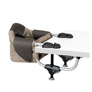 Chicco Deluxe Travel Seat in Papyrus with Deluxe Carry Bag by Chicco Deluxe