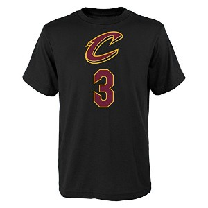 Isaiah Thomas Cleveland Cavaliers # 3NBA Youth Boys Name & Number Tシャツブラック M ブラック