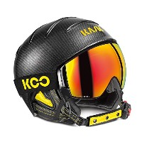 '17-18KASKカスクゴーグル&ヘルメット「Combo Elite Pro」Carbon/Black Yellow(SHE00051.273) (58)