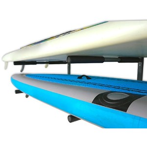 Double SUP Wall Rack | 2 Paddle Board Storage Mount | StoreYourBoard by StoreYourBoard