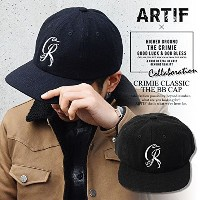 (クライミー)CRIMIE ARTIF×CRIMIE CLASSIC THE BB CAP crar-cp02 BLACK FREE