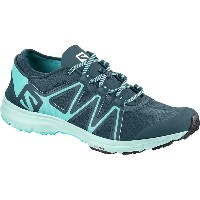 サロモン レディース ランニング スポーツ Crossamphibian Swift Water Shoe - Women's Mallard Blue/Blue Curacao/Eggshell...